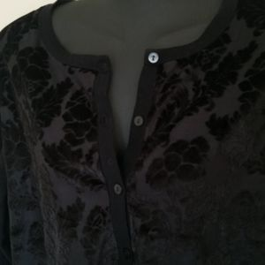 a new day Sweaters - Velour and cotton cardigan